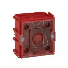 Doza aparataj, clasic, Legrand Batibox, incastrata, 2 module, 65 x 65 mm