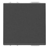 Intrerupator simplu modular, 2 M, 16A, negru