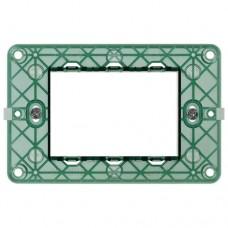 materiale electrice - suport rama intrerupator vimar, 3 module - vimar - 14613
