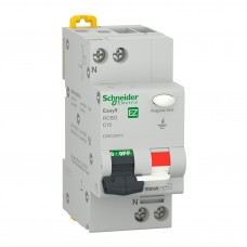Intrerupator automat modular diferential Schneider, 4.5kA, 1P+N, 10A, 30mA, curba C