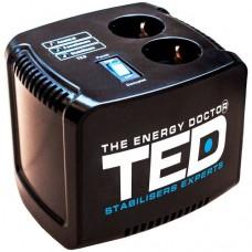 Stabilizator retea TED Electric maxim 1000VA-AVR black TED1000 profesional