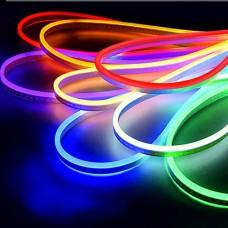 Banda LED neon flex, Neoled/Rgb, 8 W/m, 19 lm/led, IP65