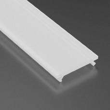 Capac dispersor mat, pentru profil aluminiu 05-30-0520, lungime 1m