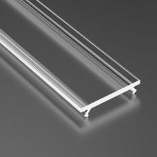 Capac dispersor transparent, pentru profil aluminiu 05-30-0520, lungime 1m