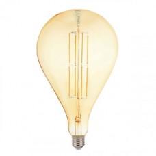 Bec cu filament LED decorativ,TOLEDO, cu dulie E27, 8W