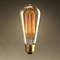 Bec decorativ Edison, tip AVOCADO, cu dulie E27, dimabil, 40W, 130 lm, 2200 K