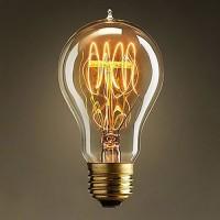 Bec decorativ Edison, tip PARA, cu dulie E27, dimabil, 40W, 130 lm, 2200 K