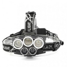 Lanterna cap 5 LED-uri 36W cu incarcare micro USB FL-T101TED electric