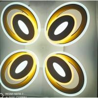 Lustra LED  4 Elemente Cu Telecomanda