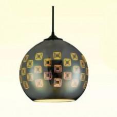 materiale electrice - pendul sticla, 3d, spectrum, e27, 240x220 mm - horoz electric - spectrum