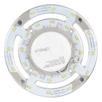 Modul magnetic Led pentru lampi de tavan, 12W, 3000K, 220V, SMD5730, lumina calda