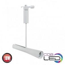 Proiector LED-COB cu brat, track light, 10 W, 900 lm, 4200K